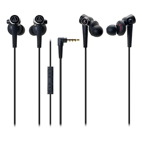 Audio Technica 鐵三角 Inner-Ear Headsets for iPod/iPhone/iPad